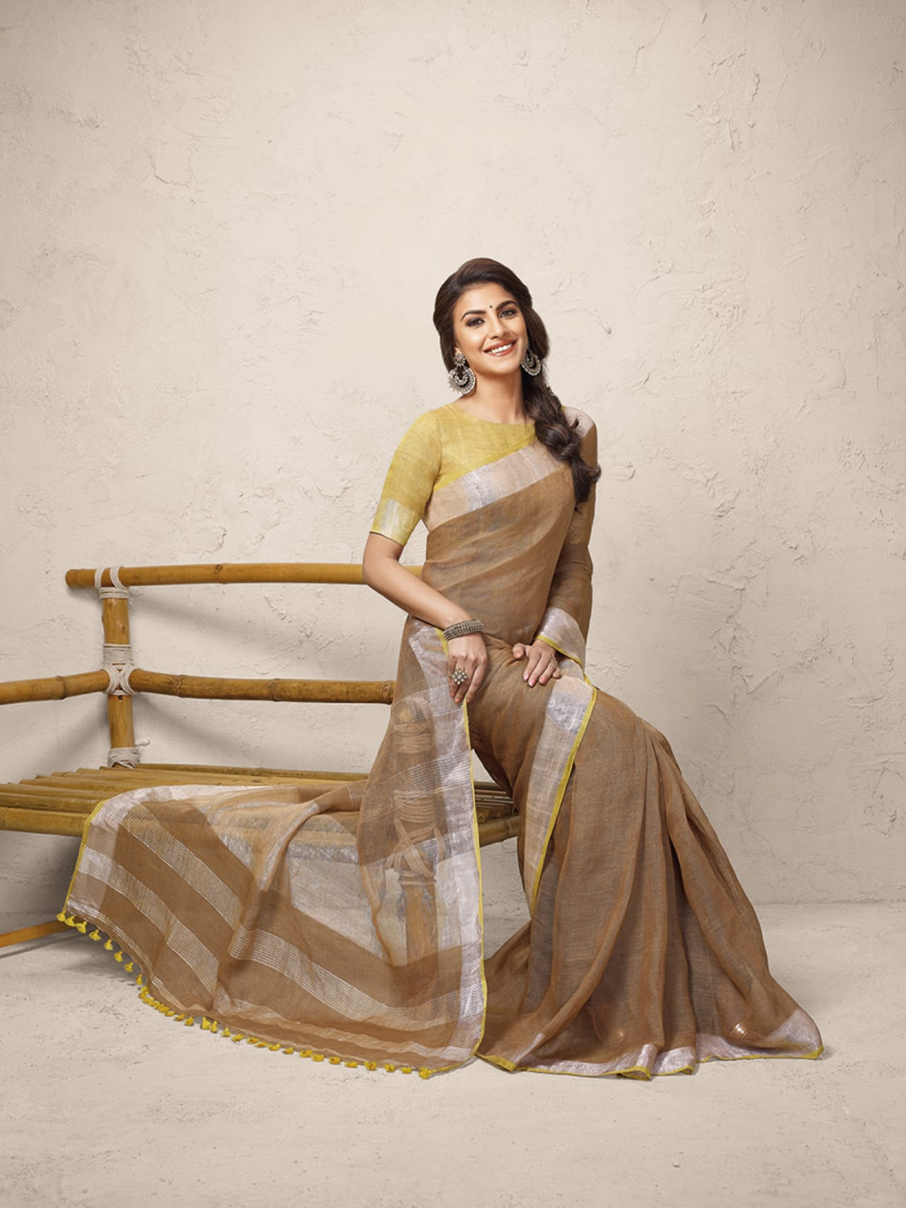 Linen Club Saree 19'